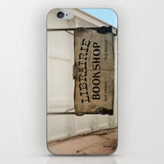 Librairie Bookshop iPhone & iPod Skin