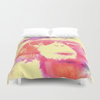chill Duvet Covers featuring Chill by orangpalsu