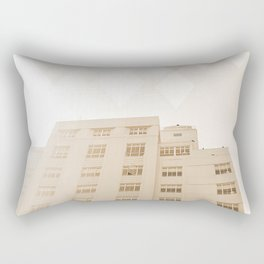Beach hotel Rectangular Pillow