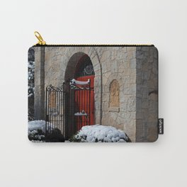 Portiuncula  Chapel Doors Carry-All Pouch