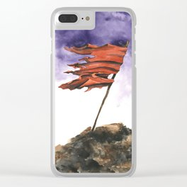 Your Heroes Always Die Clear iPhone Case