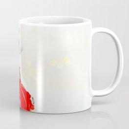 Red Car Christmas Present (Color) Coffee Mug