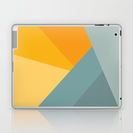 Abstract Mountain Sunrise Laptop & iPad Skin