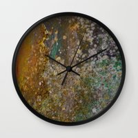 rustic Wall Clocks featuring Rustic by Herzensdinge
