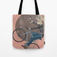jackalope Tote Bags featuring Jackalope by Kelli Shaver