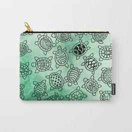 Turtle Patterns Carry-All Pouch