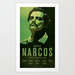 Narcos Pablo Escobar Art Print