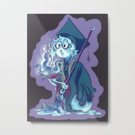 Little Bloodborne Academia  Metal Print