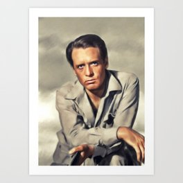 Patrick McGoohan, Actor Art Print