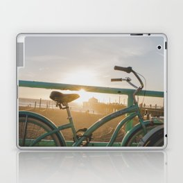 Bike & Beach in Sunny Manhattan Beach, California Laptop & iPad Skin