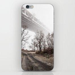 Verrazano Bridge: Into the Fog iPhone Skin