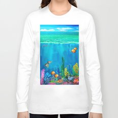 Undersea with Nautilus Long Sleeve T-shirt
