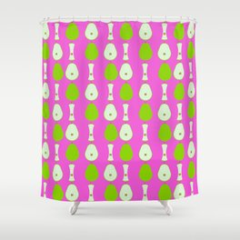 Pear Pattern Shower Curtain