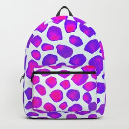 Pink Purple Stone Backpack