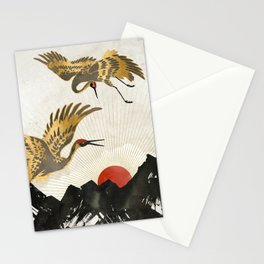 Elegant Flight II Stationery Cards