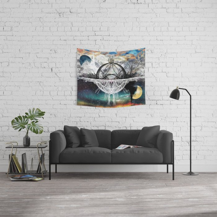 TwoWorldsofDesign Wall Tapestry