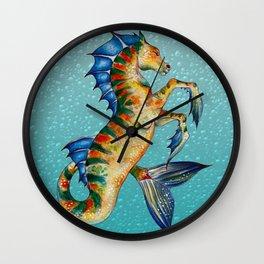 Hippocamppus Wall Clock