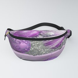 Fancy pink christmas Fanny Pack