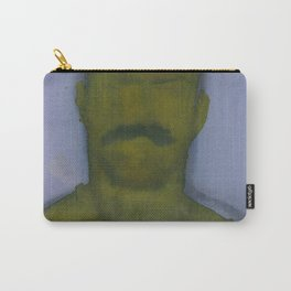 Yellow Face Carry-All Pouch