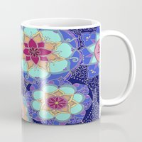 psychedelic Mugs featuring Psychedelic by Marina K.
