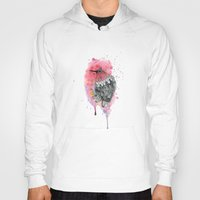 hummingbird Hoodies featuring Hummingbird by Wood + Ink