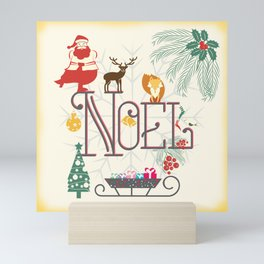 Christmas Noel Mini Art Print