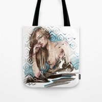 charmaine olivia Tote Bags featuring Olivia by Anna Sun