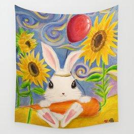 Dreamland Bunny Wall Tapestry
