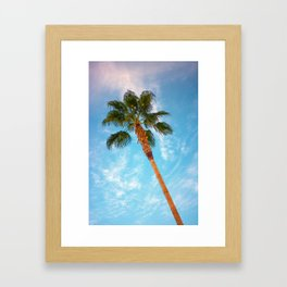 Palm Springs, CA Framed Art Print