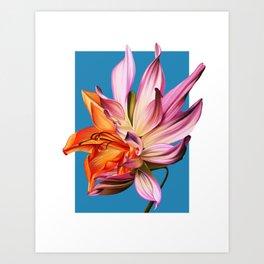 Hybrid Flower IX Art Print