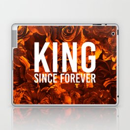 flowers 55 - king Laptop & iPad Skin