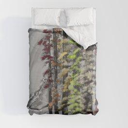 First Autumn light Comforters