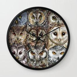 Owl Optics Wall Clock
