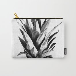 Pineapple Black & White Dream #1 #tropical #fruit #decor #art #society6 Carry-All Pouch