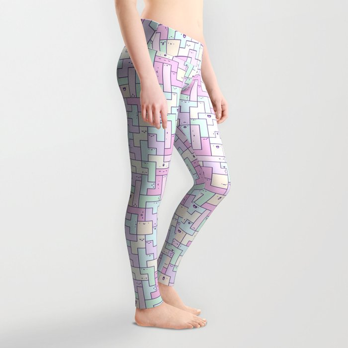 Kawaii Tetris Leggings