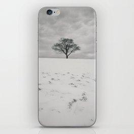 White Winterscape iPhone Skin