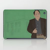 seinfeld iPad Cases featuring George Costanza // Seinfeld // Graphic Design by Dick Smith Designs