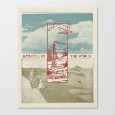 Rainfall of the World Canvas Print