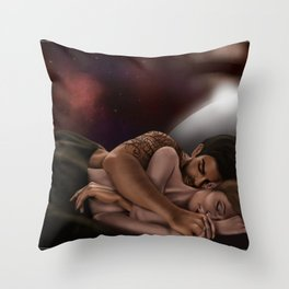 They Still Had Time Throw Pillow