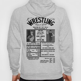 #10 Memphis Wrestling Window Card Hoody