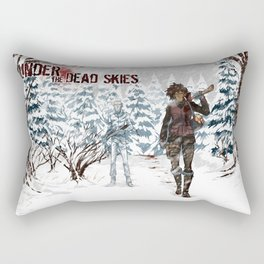 Under the Dead Skies - Snow Rectangular Pillow