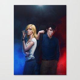 Rebel Princess and Sunai Canvas Print