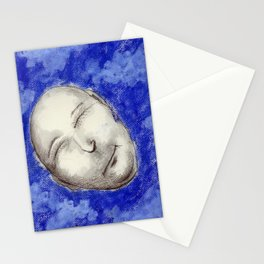 Cat in Blue Hat Stationery Cards