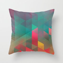 byych fyre Throw Pillow