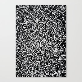 Knot What I Expected Canvas Print