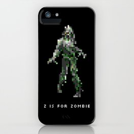 Z is for Zombie iPhone Case