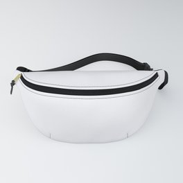 Ghost White Fanny Pack