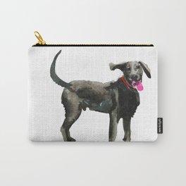 watercolor dog vol 16 silver labrador Carry-All Pouch