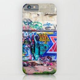Tel Aviv Street Art Jewish Star iPhone Case