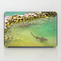 sharks iPad Cases featuring Sharks by FortuneArt&Photography